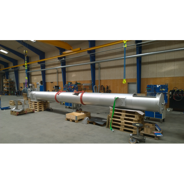 Pipe conveyor for paper pulp