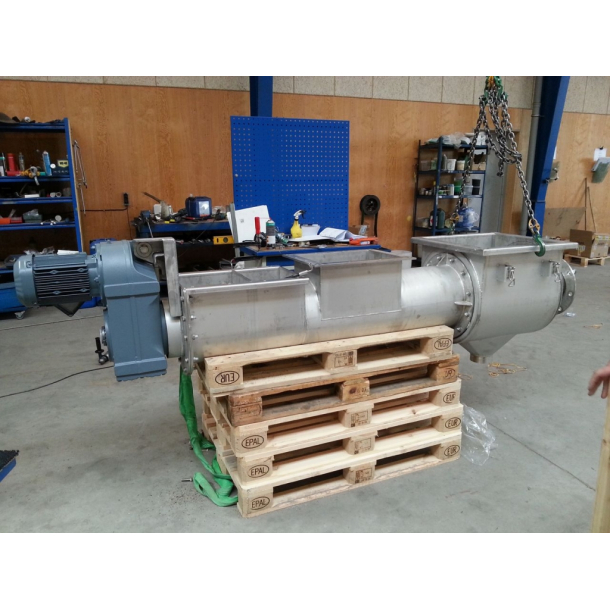 Ø300mm press screw for dewatering